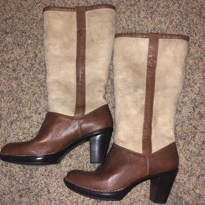 Tall brown boots size 8.5